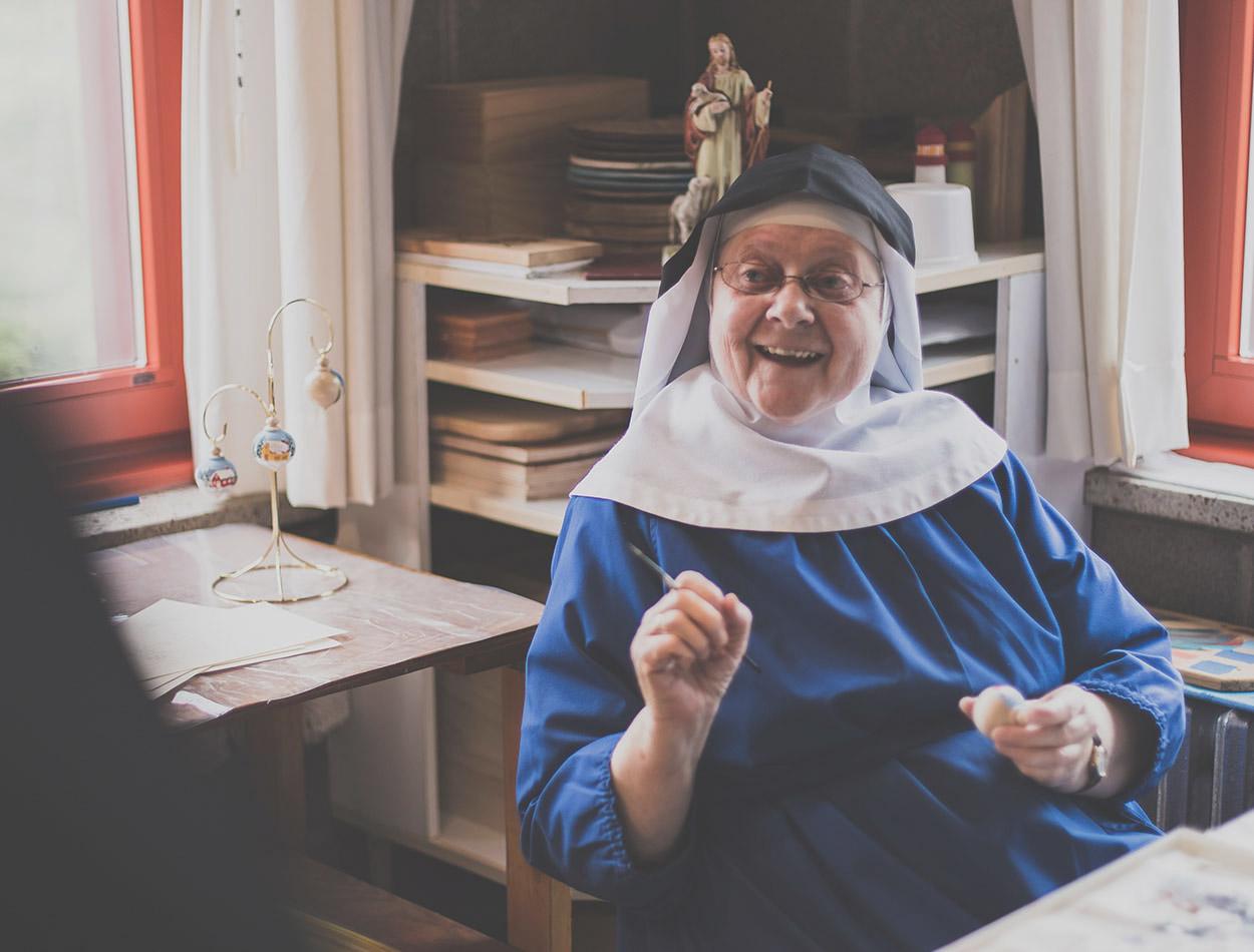 Vocations - Joyful Sister Creating Art